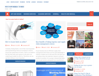 mytopdirectory.info screenshot