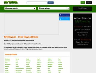 mytown.ie screenshot
