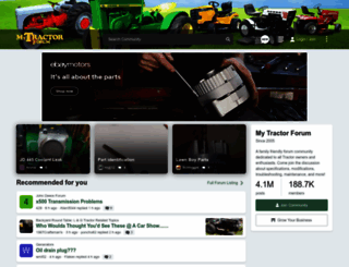 mytractorforum.com screenshot