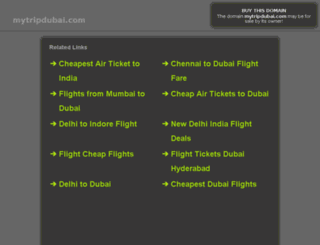 mytripdubai.com screenshot