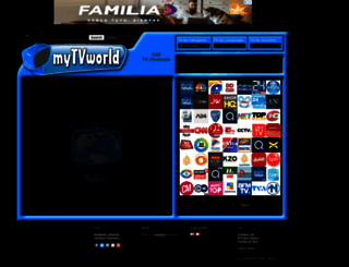 mytvworld.tv screenshot