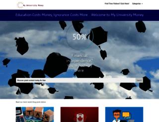 myuniversitymoney.com screenshot