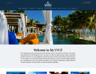 myuvci.com screenshot