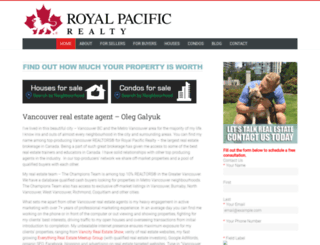 myvancouverproperty.ca screenshot