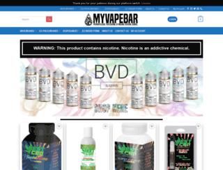 myvapebar.com screenshot