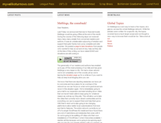 myvelikoturnovo.com screenshot