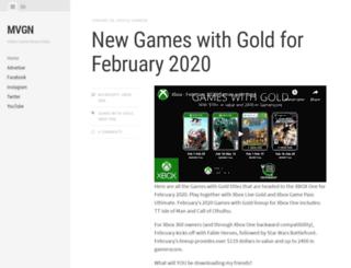 myvideogamenews.com screenshot