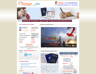 myvietnam-visa.com screenshot