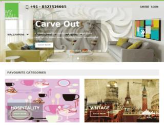 mywall-design.com screenshot