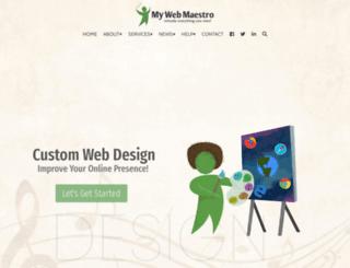 mywebmaestro.com screenshot
