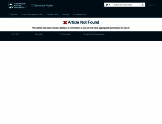 mywebmail.mytru.ca screenshot