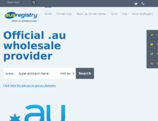 mywebname.com.au screenshot