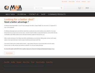 mywholesaleadvantage.com.au screenshot