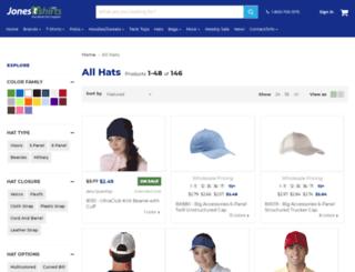 mywholesalehats.com screenshot