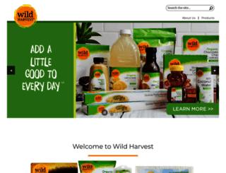 mywildharvest.com screenshot