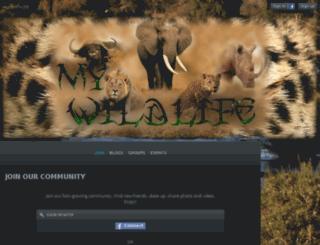 mywildlife.co.za screenshot