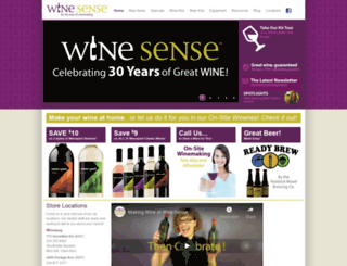 mywinesense.com screenshot