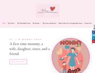 myworldmommyanna.com screenshot