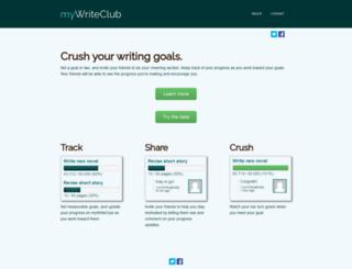 mywriteclub.com screenshot