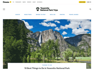 myyosemitepark.com screenshot