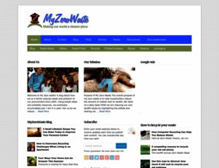 myzerowaste.com screenshot