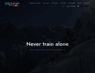 myzone.org screenshot