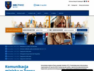 mzk.zywiec.pl screenshot