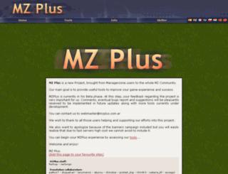 mzplus.com.ar screenshot