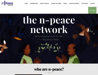 n-peace.net screenshot
