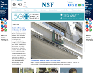 n3f.com.ar screenshot