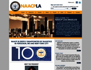 naacp-losangeles.org screenshot