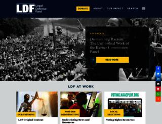 naacpldf.org screenshot