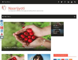 naarijyoti.com screenshot