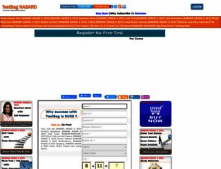 nabard.testbag.com screenshot