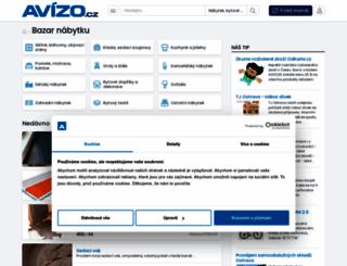 nabytek.avizo.cz screenshot
