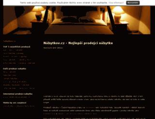 nabytkov.cz screenshot
