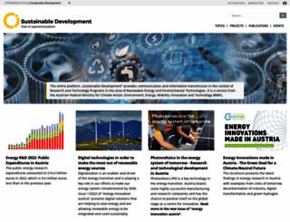 nachhaltigwirtschaften.at screenshot