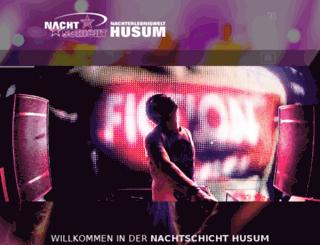 nachtschicht-husum-online.de screenshot