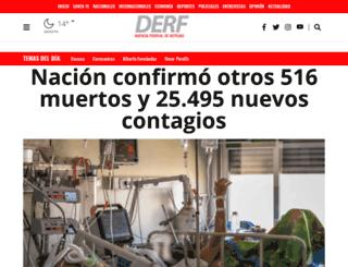 nacionales.derf.com.ar screenshot