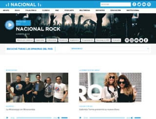 nacionalrock.com screenshot