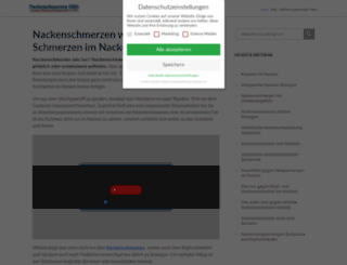 nackenschmerzenwastun.com screenshot