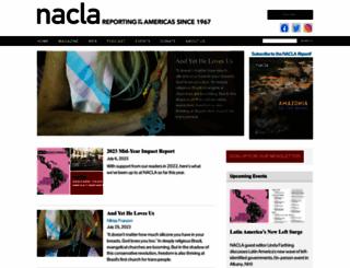 nacla.org screenshot