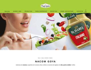 nacomgoya.com.br screenshot