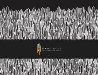 nada-alam.com.my screenshot