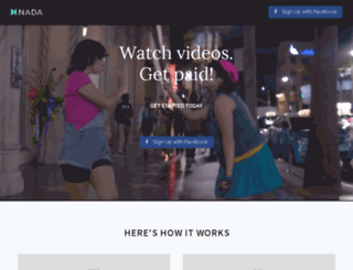 nadamobile.com screenshot
