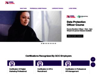 nadia-training.com screenshot