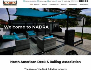 nadra.org screenshot