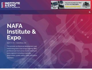 nafainstitute.org screenshot