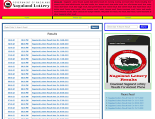 nagalandlottery.com screenshot
