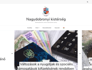 nagydobrony.com.ua screenshot